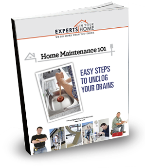 Home Maintenance 101 Easy Steps to Unclog Drains Book