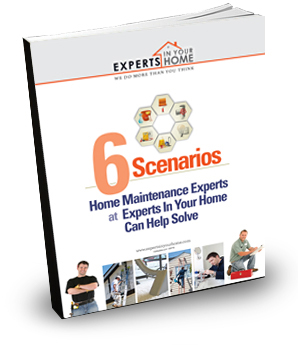 6 scenarious home maintenance experts can help solve Book
