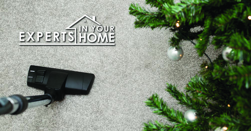 carpet cleaning at Christmas