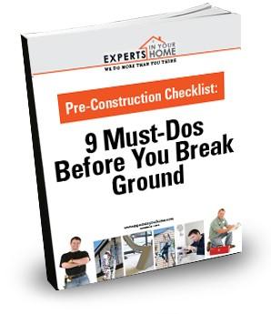 Pre-Construction Checklist - Cover image-1